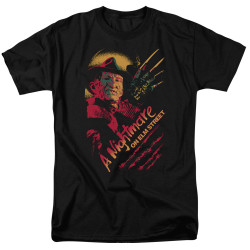 Image for A Nightmare on Elm Street T-Shirt - Freddy Claws