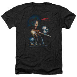 Image for A Nightmare on Elm Street Heather T-Shirt - Poster