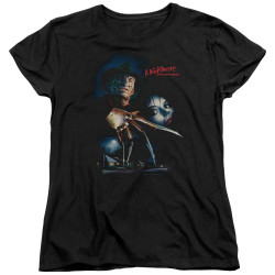 Image for A Nightmare on Elm Street Womans T-Shirt - Poster