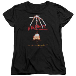 Image for A Nightmare on Elm Street Womans T-Shirt - Alternate Poster