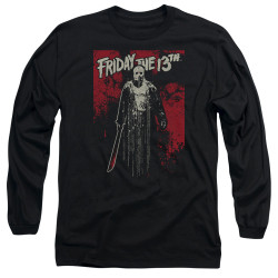 Image for Friday the 13th Long Sleeve Shirt - Dripping