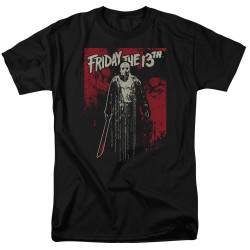 Image for Friday the 13th T-Shirt - Dripping