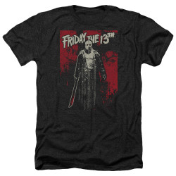 Image for Friday the 13th Heather T-Shirt - Dripping
