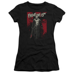Image for Friday the 13th Juniors Premium Bella T-Shirt - Dripping