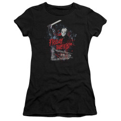 Image for Friday the 13th Girls T-Shirt - Cabin