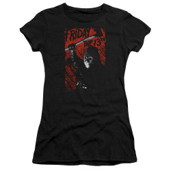 Image for Friday the 13th Girls T-Shirt - Jason Lives