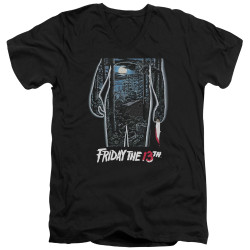 Image for Friday the 13th V Neck T-Shirt - Poster
