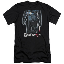 image for Friday the 13th Premium Canvas Premium Shirt - Poster