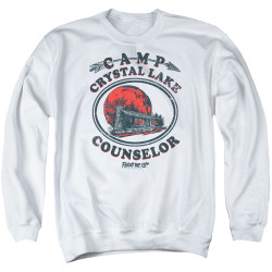 Image for Friday the 13th Crewneck - Camp Crystal Lake Counselor