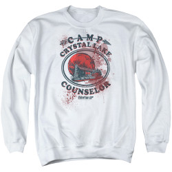 Image for Friday the 13th Crewneck - Camp Crystal Lake Victim