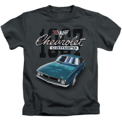Image for Chevrolet Kids T-Shirt - Classic Blue Camero
