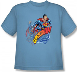 Image for Superman Youth T-Shirt - Up Up and Away