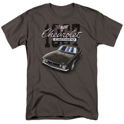 Image for Chevrolet T-Shirt - Classic Charcoal Camero