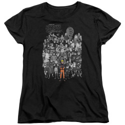 Image for Naruto Shippuden Womans T-Shirt - Characters