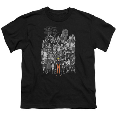Image for Naruto Shippuden Youth T-Shirt - Characters