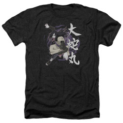 Image for Naruto Shippuden Heather T-Shirt - Leaves Headband