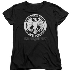 Image for One Punch Man Womans T-Shirt - Hero Association Logo