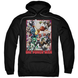 Image for One Punch Man Hoodie - Cast of Characters