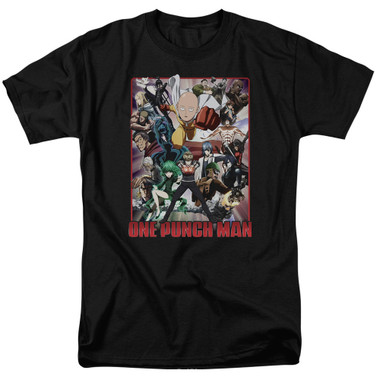 Image for One Punch Man T-Shirt - Cast of Characters