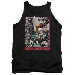 Image for One Punch Man Tank Top - Cast of Characters