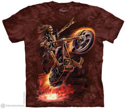 Image for The Mountain T-Shirt - Hell Rider