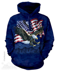 Image for The Mountain Hoodie - Eagle Talon Flag