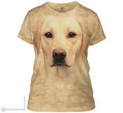 Image for The Mountain Girls T-Shirt - Yellow Lab Portrait