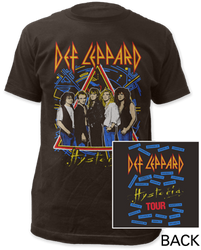 Image for Def Leppard Hysteria Tour T-Shirt