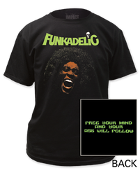Image for Funkadelic Free Your Mind T-Shirt