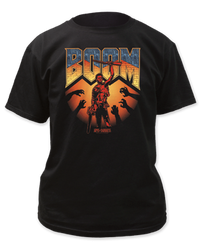 Image for Army of Darkness T-Shirt - Boom Logo
