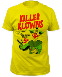 Image for Killer Klowns from Outer Space T-Shirt - 5 Cent Pies