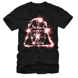 Image for Star Wars Sparkle Vader T-Shirt