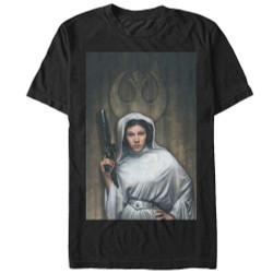 Image for Star Wars Leia Painting T-Shirt