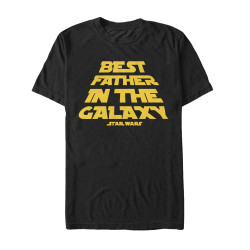 Image for Star Wars Best Father in the Galaxy T-Shirt