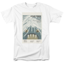 Image for Star Trek Juan Ortiz Episode Poster T-Shirt - Ep. 1 the Man Trap