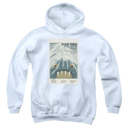 Image for Star Trek Juan Ortiz Episode Poster Youth Hoodie - Ep. 1 the Man Trap