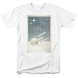 Image for Star Trek Juan Ortiz Episode Poster T-Shirt - Ep. 2 Charlie X
