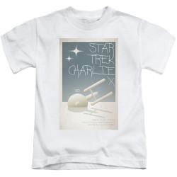 Image for Star Trek Juan Ortiz Episode Poster Kids T-Shirt - Ep. 2 Charlie X