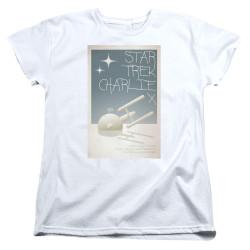 Image for Star Trek Juan Ortiz Episode Poster Womans T-Shirt - Ep. 2 Charlie X
