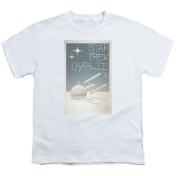 Image for Star Trek Juan Ortiz Episode Poster Youth T-Shirt - Ep. 2 Charlie X