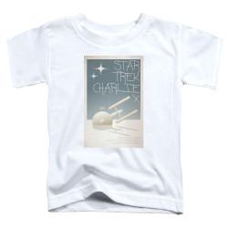 Image for Star Trek Juan Ortiz Episode Poster Toddler T-Shirt - Ep. 2 Charlie X
