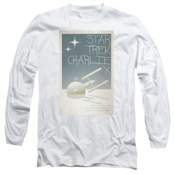 Image for Star Trek Juan Ortiz Episode Poster Long Sleeve Shirt - Ep. 2 Charlie X