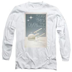 Image for Star Trek Juan Ortiz Episode Poster Long Sleeve Shirt - Ep. 2 Charlie X