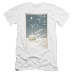 Image for Star Trek Juan Ortiz Episode Poster Premium Canvas Premium Shirt - Ep. 2 Charlie X