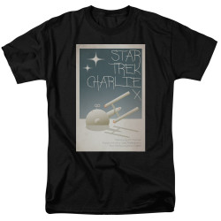 Image for Star Trek Juan Ortiz Episode Poster T-Shirt - Ep. 2 Charlie X on Black