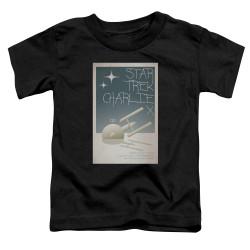 Image for Star Trek Juan Ortiz Episode Poster Toddler T-Shirt - Ep. 2 Charlie X on Black