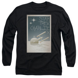 Image for Star Trek Juan Ortiz Episode Poster Long Sleeve Shirt - Ep. 2 Charlie X on Black