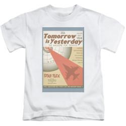 Image for Star Trek Juan Ortiz Episode Poster Kids T-Shirt - Ep. 19 Tomorrow is Yesterday