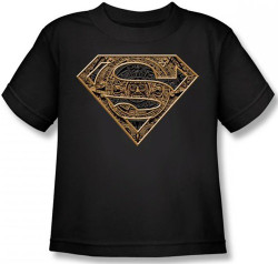 Image for Superman Kids T-Shirt - Aztec Shield Logo