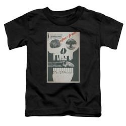 Image for Star Trek Juan Ortiz Episode Poster Toddler T-Shirt - Ep. 23 A Taste of Armageddon on Black
